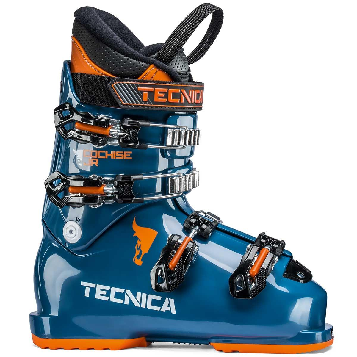 Tecnica Cochise Jr ski boot in dark blue process