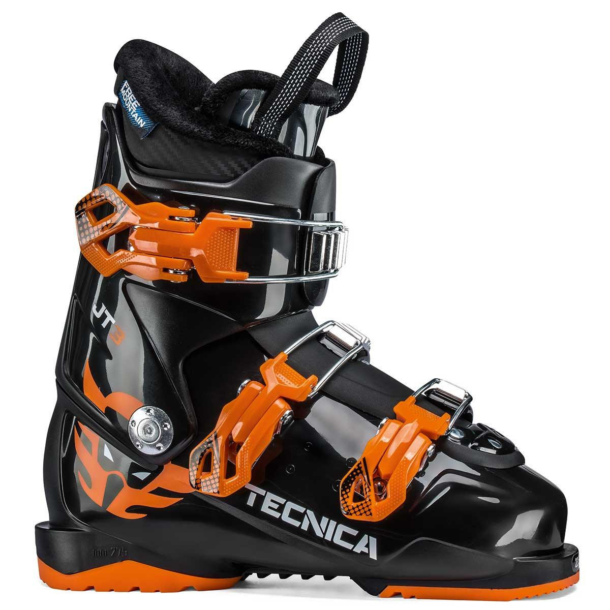 Tecnica JT 3 junior ski boot in black