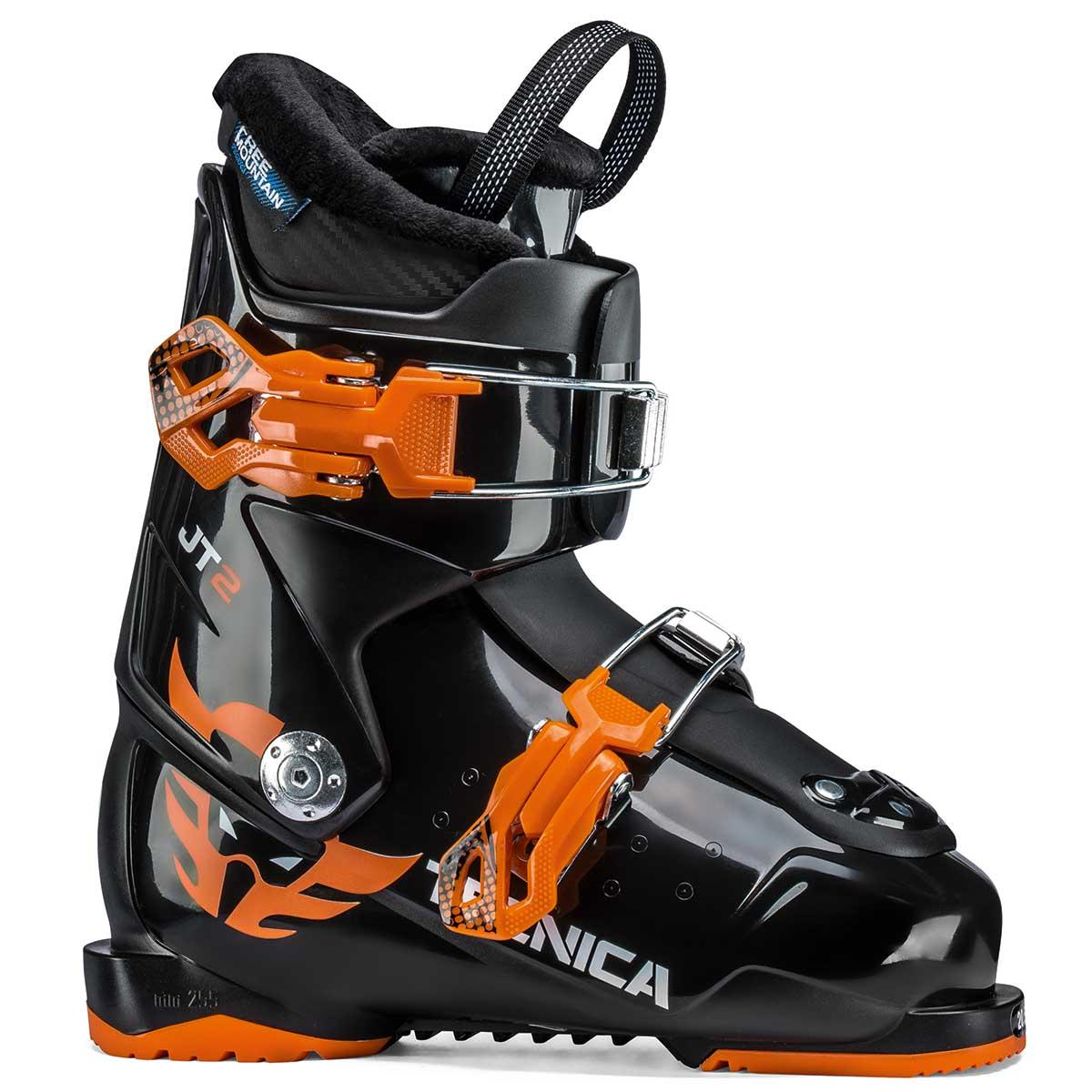 Tecnica JT 2 junior ski boot in black