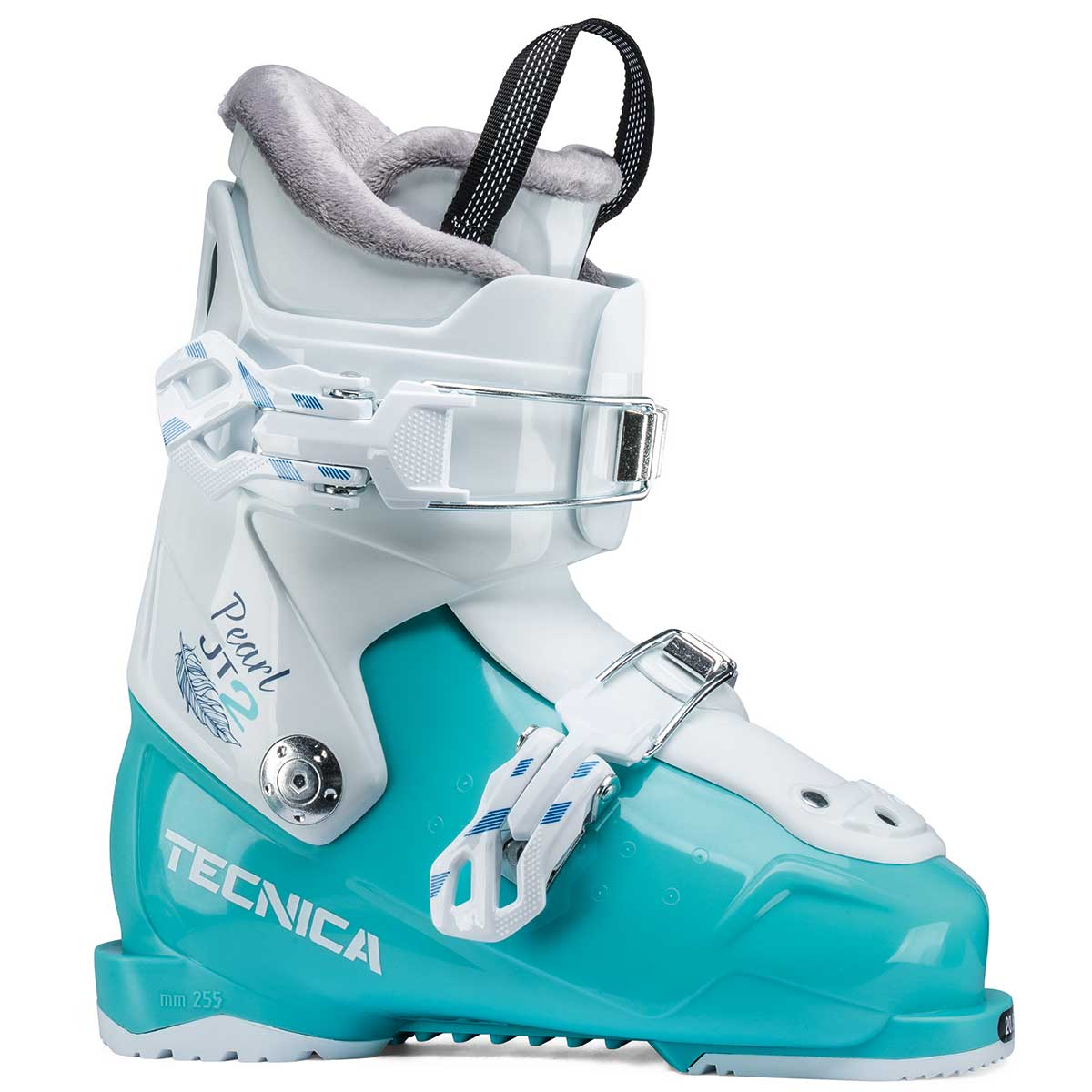 Tecnica JT 2 Pearl junior ski boot in light blue
