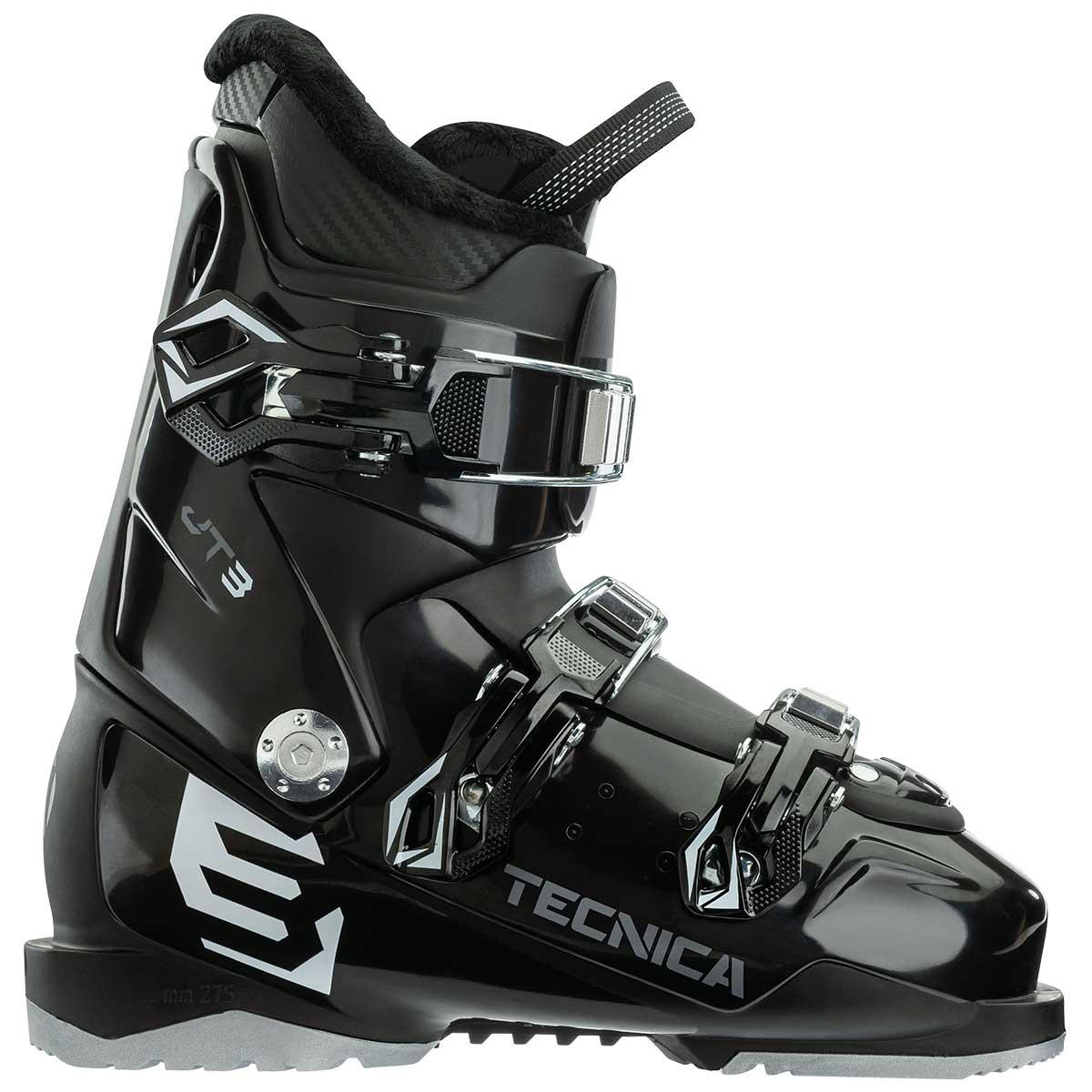 Tecnica JT 3 Boys' Ski Boot in Black