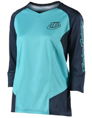 Troy Lee Designs Women's Ruckus Jersey Aqua