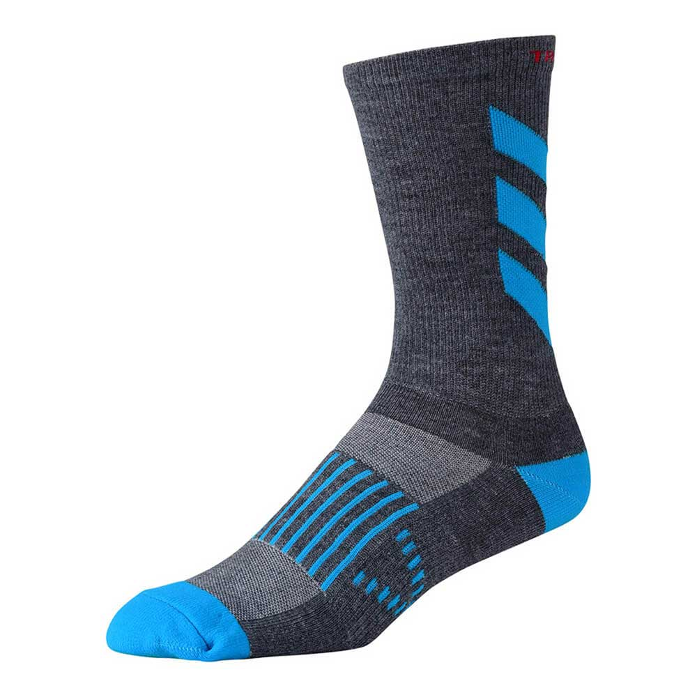 Troy Lee Designs Men's Performance Crew Sock Escape Ocean and Grey