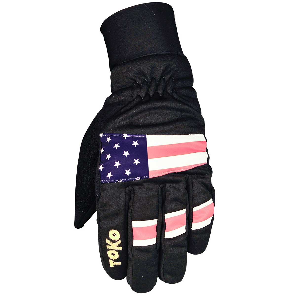 Toko Thermo Plus Gloves in Black and Flag
