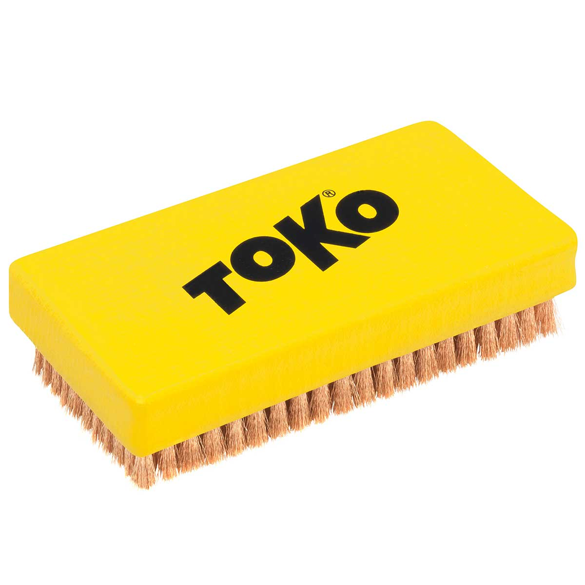Top of Toko Base Brush Copper in Yellow