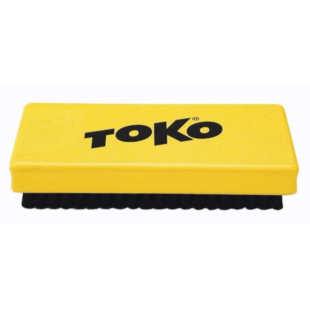 Toko Base Brush Horsehair in Yellow and Black