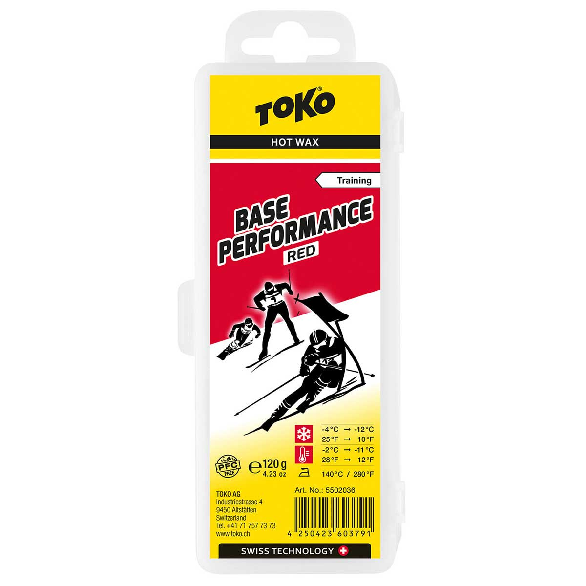 Toko Base Performance Wax in Red
