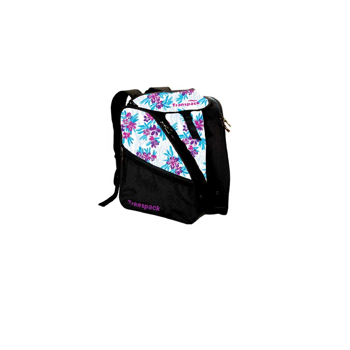 Transpack Women's XTW Print Boot Bag in White Floral Hibiscus