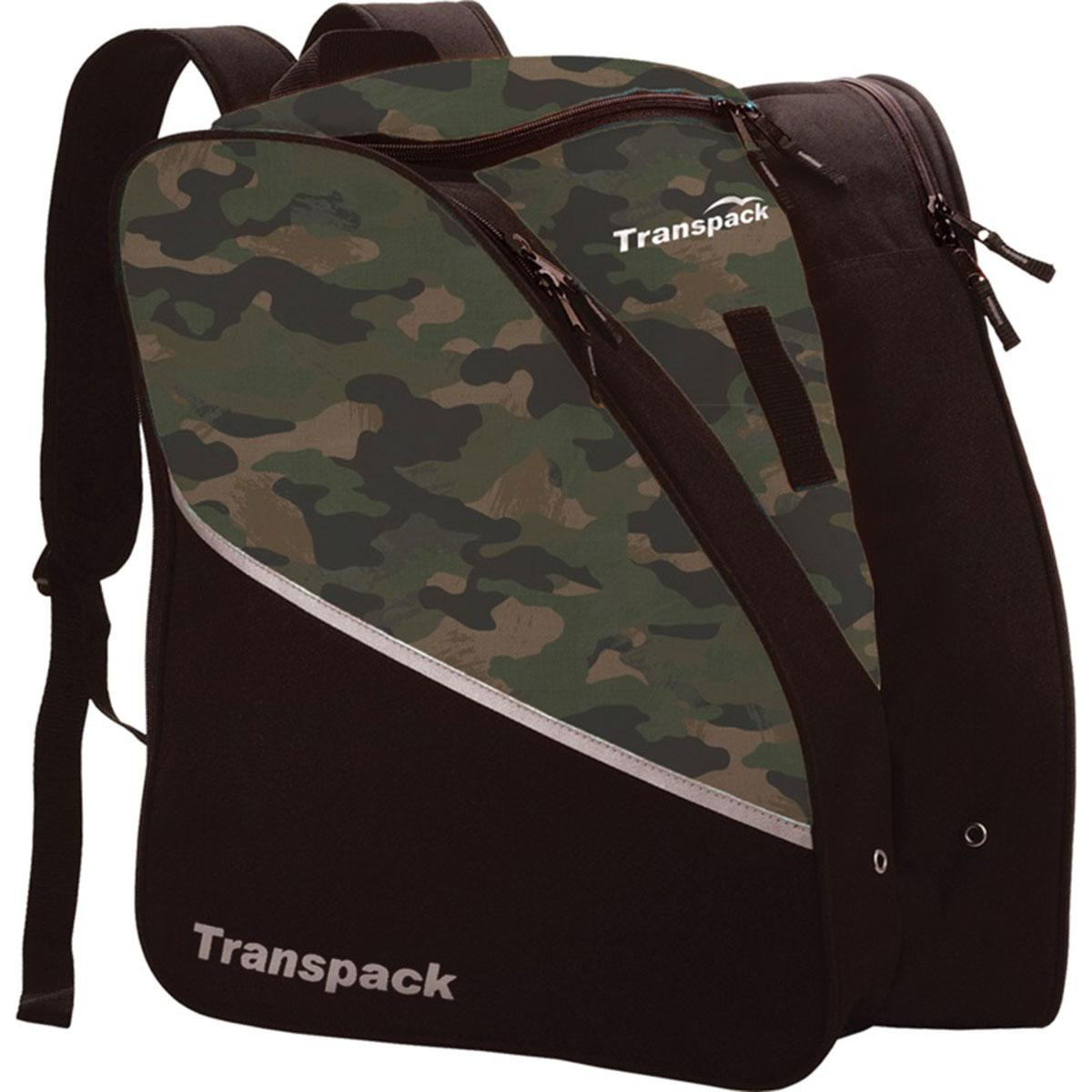 Transpack Kids' Edge Jr. Print Boot Bag in Traditional Camo