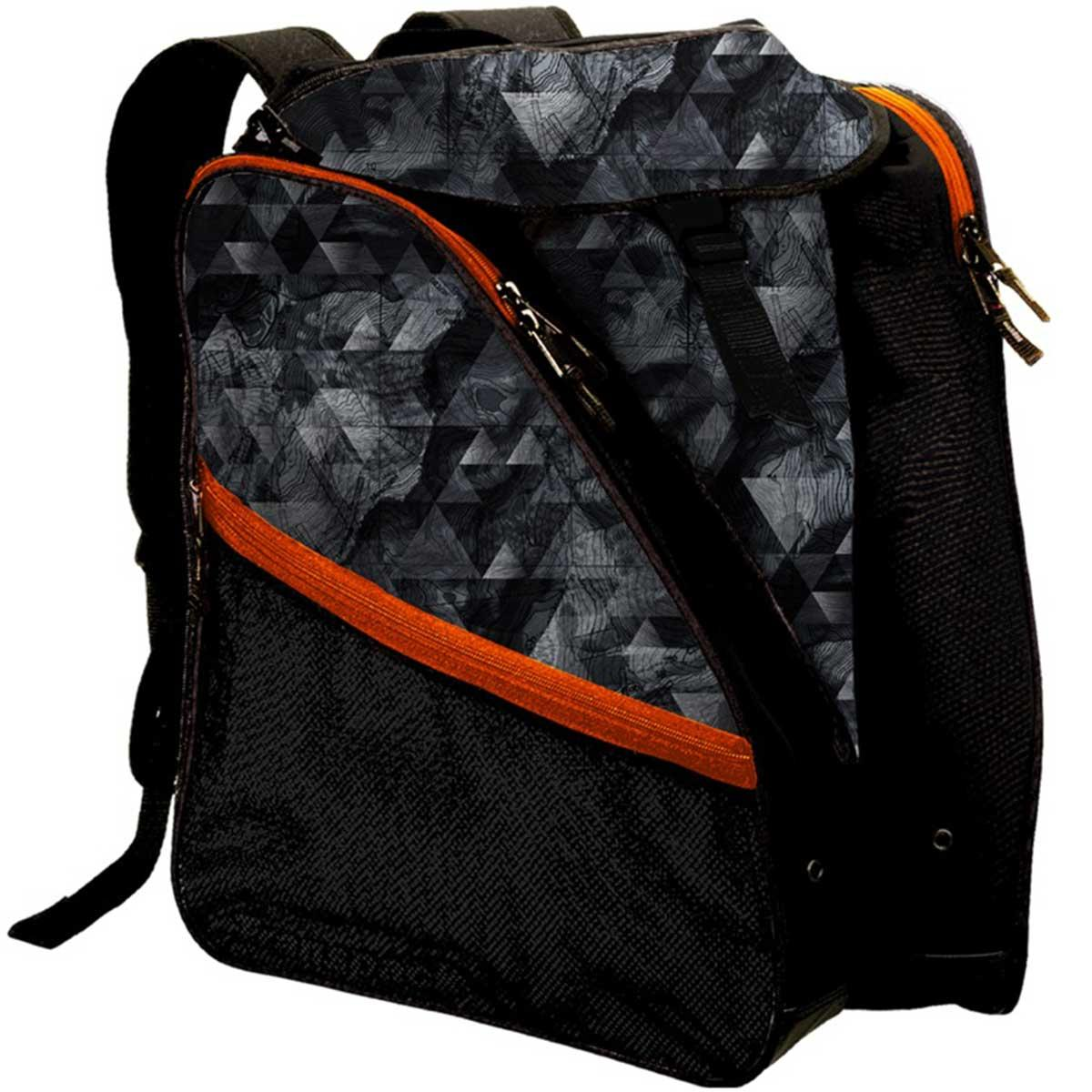 Transpack XT1 Classic Print Boot Bag in Grey Topo